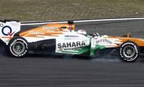 Sahara Force India completes 100th Grand Prix, fetches double score
