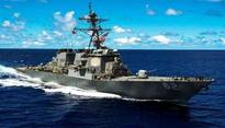 Seven sailors missing as US Navy destroyer collides with ship off Japanese coast
