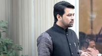 Conflict of interest complaint filed against Anurag Thakur, Vikram Rathour