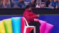 Security guard's famous boundary catch at Big Bash