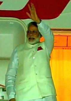 PM Narendra Modi departs for Tanzania