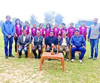 JU Roll Ball team bags bronze in Inter-Varsity