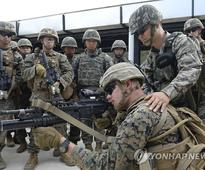 U.S. joins drill in tense inter-Korean border region