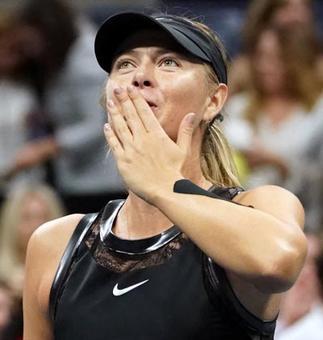 US Open: Sharapova hits back at Wozniacki