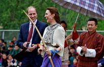 William and Kate in Bhutan