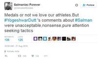 Salman Khan fans ridicule Yogeshwar Dutt and his response shuts them all