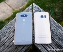 LG G5 versus Samsung Galaxy S7: Grasping at refinement