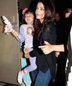 Daughter Aaradhya keeps Aishwarya company on Ae Dil Hai Mushkil sets