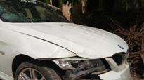 Delhi: Speeding BMW hits Uber cab, kills its driver