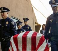 Palm Springs officers mourned at funeral