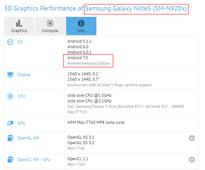 Galaxy Note 5 running Android 7.0 Nougat spotted on GFXBench 1 hour ago 0