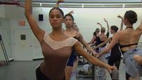 On pointe! Ballerina Misty Copeland re-creates Degas dancers in Harper's Bazaar photos