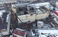 Russia's fire ravaged mall built illegally: Investigators