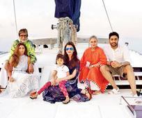 Bachchans celebrate Abhishek's 40th birthday at Maldives