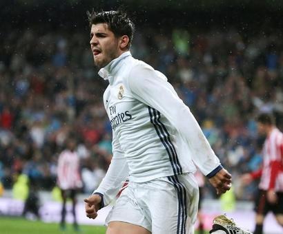 La Liga: Morata takes Real Madrid top, Sevilla sinks Atletico