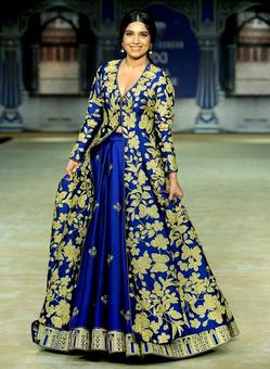India Couture Week: Look who gave us the blues!