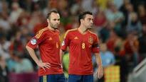 Andres Iniesta says he misses Spain teammates Xavi Hernandez and Xabi Alonso