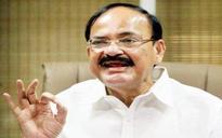 Venkaiah Naidu felicitates municipality workers, launches Swachh Survekshan for 500 cities