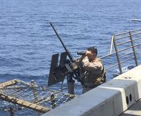 Iranian Military Boats Monitor, Come Dangerously Close to U.S. Warship in Persian Gulf