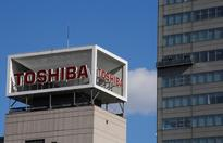 Toshiba shares slide as bigger stake in chip unit likely up for sale