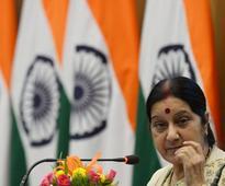 Kudos: Sushma Swaraj tweets as consulate in Jeddah feeds 10,000 starving Indians in Saudi Arabia