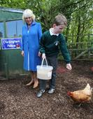 In Pics: Charles and Camilla Donegal visit