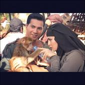 Check out Jacqueline Fernandez and Varun Dhawan with monkey Coco