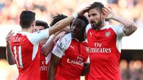 Arsenal edge post Norwich on day of fan protests