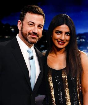 Priyanka promotes Baywatch in New York