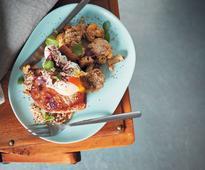 Recipe: Spice-roasted cauliflower with tahini, sesame seeds