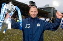 Queen of the South boss Allan Johnston has first cup-winners' medal stolen hours after team's triumph