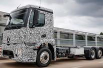 Mercedes-Benz unveils heavy duty electric truck