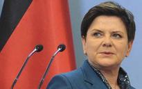 Polish PM Beata Szydlo suffers injuries in car crash