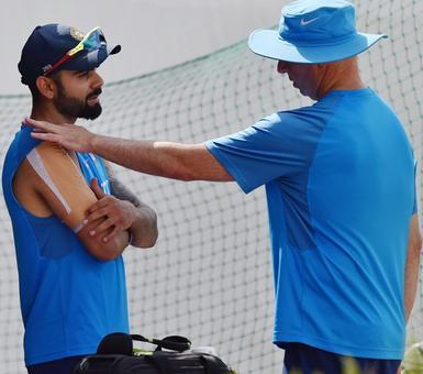 Captain Kohli doubtful starter for Dharamsala Test