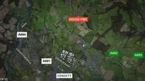 Woman dies in tragic house fire in Consett
