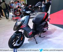 Aprilia SR150 To Be Powered By Vespa's 150cc Engine In India