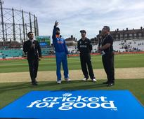 Live: India vs New Zealand - Champions Trophy first warm-up game