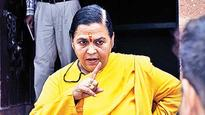 Cong wants Uma Bharti's ouster, BJP rejects demand