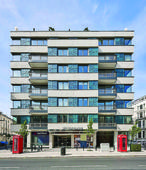 Qatar First Bank announces completion of Leins... A view of the Leinster Square residential property in London.   ...