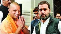 In Gorakhpur, Rahul Gandhi and Yogi Adityanath take potshots at each other