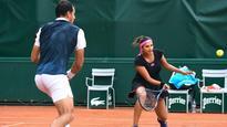 French Open: Sania through to mixed doubles quarters; Bopanna, Purav-Divij bow out