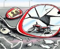 Husband, wife killed in accident near Virpur