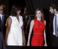 ESPAÑA EEUU - M.Obama: La desigualdad femenina se combate cambiando mentes y corazones