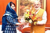 Mehbooba discusses overall J&K political scenario with Modi