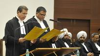 Justice Ahluwalia, nine others take oath as Punjab and Haryana high court judges