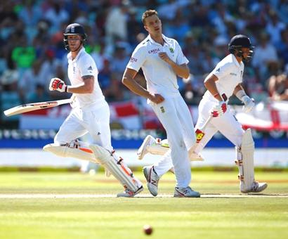 Cape Town Test: Late Stokes burst gives England the edge on Day I