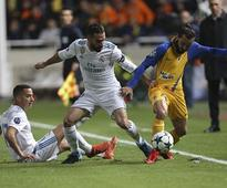 Champions League: Real Madrid's Dani Carvajal handed two