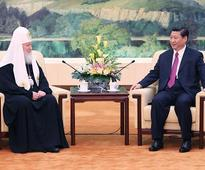 President Xi Jinping Meets with Kirill, Patriarch of Moscow and All Russia and Primate of Russian Orthodox Church