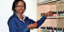 Air hostess abandons the skies for flourishing nail polish business