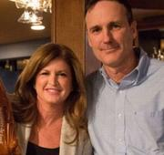Rona Ambrose catches some Super Bowl action while in P.E.I. boosting Tory brand